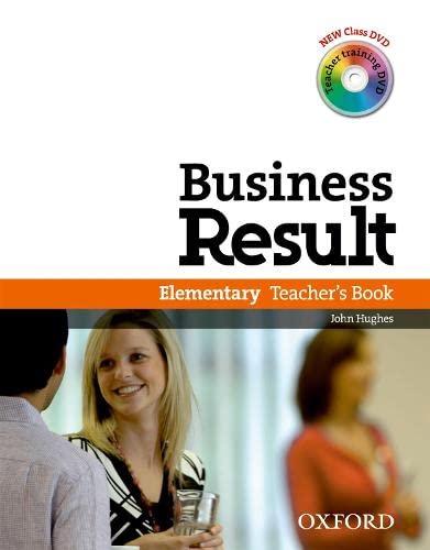 9780194739429: Business Result: Elementary: Teacher's Book Pack: Business Result DVD Edition Teacher's Book with Class DVD and Teacher Training DVD