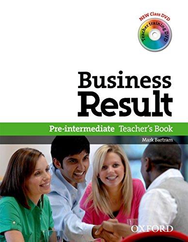 9780194739436: Business Result DVD Edition: Pre-Intermediate: Teacher's Book Pack: Business Result DVD Edition Teacher's Book with Class DVD and Teacher Training DVD