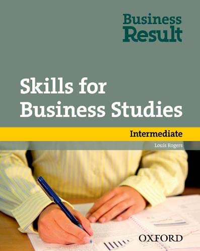 9780194739474: Skills for Business Studies Intermediate
