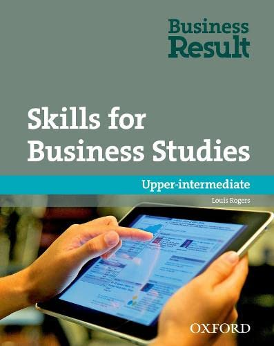 9780194739481: Skills for Business Studies: Upper-Intermediate