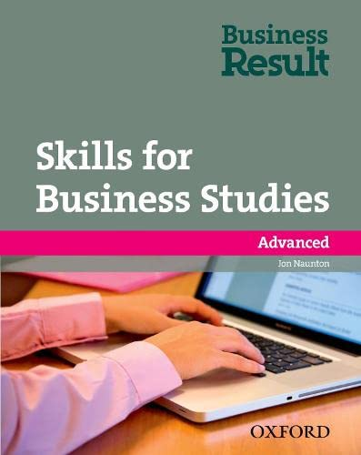 9780194739498: Skills for Business Studies. Advanced. Business Result Advanced Skills for Business Studies
