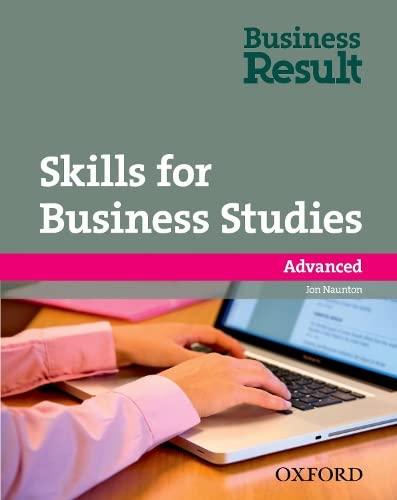 9780194739498: Skills for Business Studies Advanced