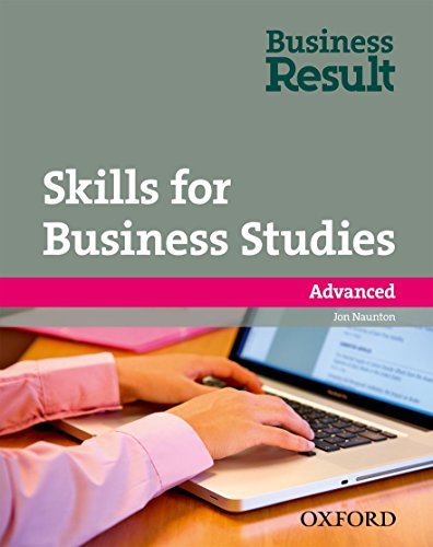 9780194739528: Business Result Advanced. Student's Book with DVD-ROM + Skills for Business Studies Pack
