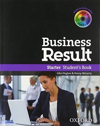 9780194739818: Business Result: Starter: Student's Book with DVD-ROM and Online Workbook Pack