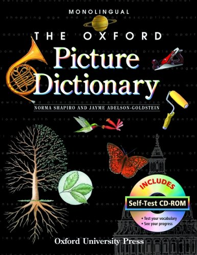 9780194740029: The Oxford Picture Dictionary with Self Test CD-ROM: Self-Test (The Oxford Picture Dictionary Program)