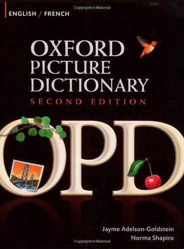 9780194740135: Oxford Picture Dictionary english-french