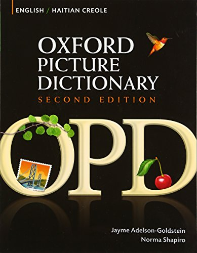 9780194740142: Oxford Picture Dictionary English-Haitian Creole Edition