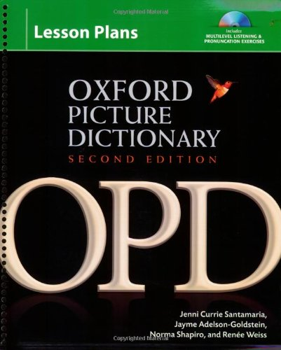 9780194740227: Oxford Picture Dictionary Lesson Plans for Multilevel Listening & Pronunciation Exercises, 2nd Edition (Book & 3 Cds)