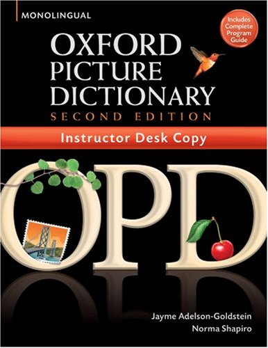 Oxford Picture Dictionary By Jayme Adelson Goldstein Norma Shapiro Abebooks