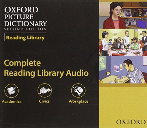 9780194740593: Oxford Picture Dictionary Reading Library: Audio CDs