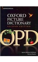 9780194740692: Oxford Picture Dictionary: Monolingual [With Access Code]