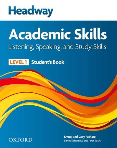 9780194741569: New headway academic skills: listening, speaking & study skills. Student's book. Per le Scuole superiori: 1