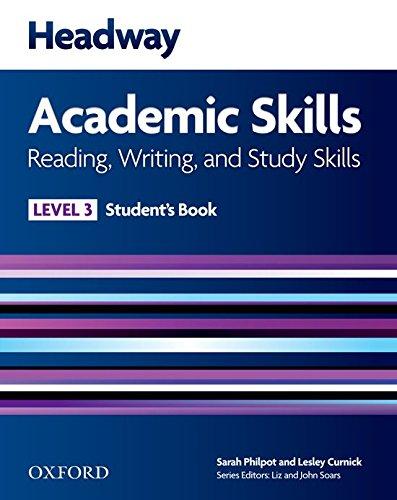9780194741613: New headway academic skills: reading & writing. Student's book. Per le Scuole superiori: Headway Academic Skills 3: Reading, Writing, and Study Skills Student's Book