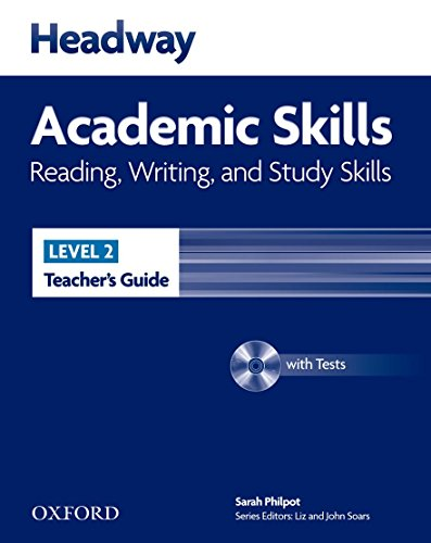 9780194741637: Headway Academic Skills 2: Reading, Writing and Study Skills: Teacher's Guide with Test Pack (New Headway Academic Skills)