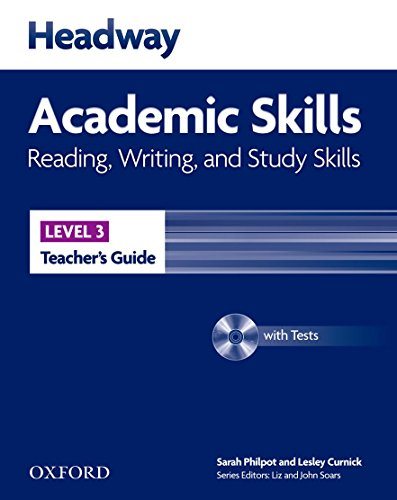 9780194741644: Headway Academic Skills: 3: Reading, Writing, and Study Skills Teacher's Guide with Tests CD-ROM