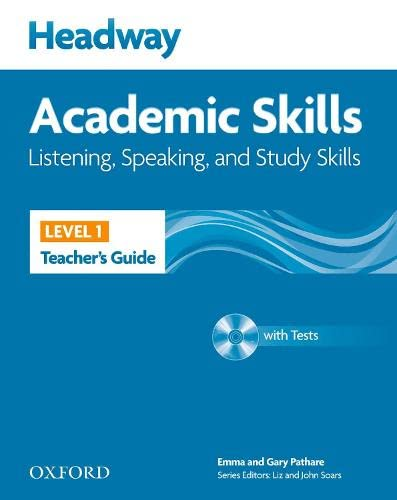 9780194741651: Headway 1 Academic Skils Listening and Speaking Teacher's Book Pack (Headway Academic Skills)