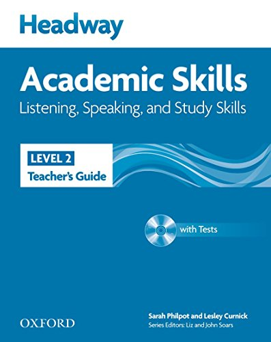 9780194741668: Headway Academic Skills: 2: Listening, Speaking, and Study Skills Teacher's Guide with Tests CD-ROM