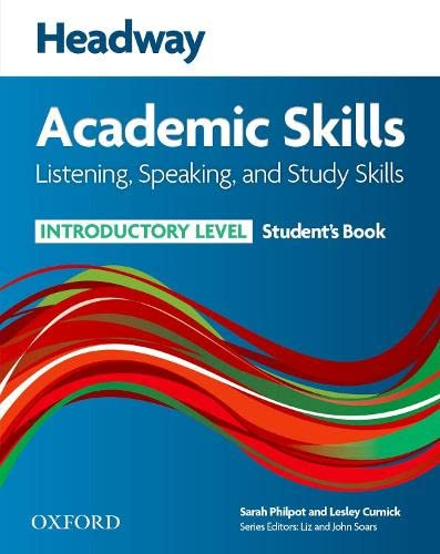 9780194741699: Headway Academic Skills: Introductory: Listening, Speaking, and Study Skills Student's Book