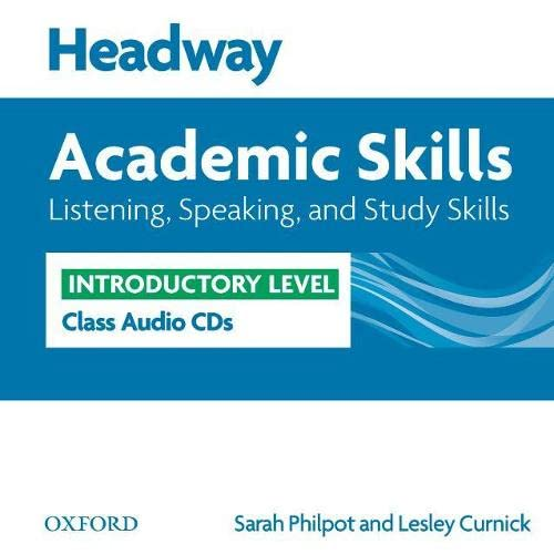 9780194741897: Headway Academic Skills: Introductory: Listening, Speaking, and Study Skills Class Audio CDs (2)