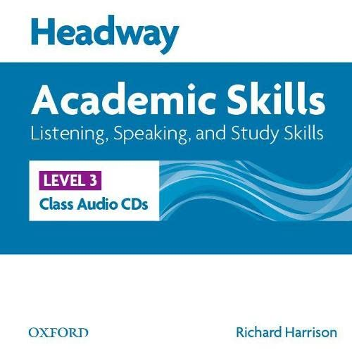 9780194741927: Headway 3 Academic Skills Listening and Speaking Class Audio CDs