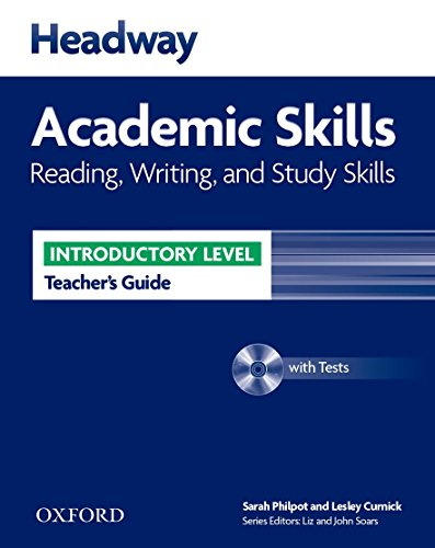 9780194741941: Headway Academic Skills: Introductory: Reading, Writing, and Study Skills Teacher's Guide with Tests CD-ROM