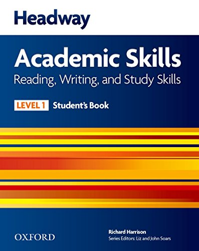 9780194742160: Headway Academic Skills 1. Reading, Writing, and Study Skills Student's Book with Oxford Online Skills (New Headway Academic Skills)