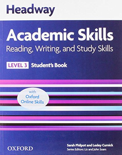 9780194742184: Headway Academic Skills: 3: Reading, Writing, and Study Skills Student's Book with Oxford Online Skills