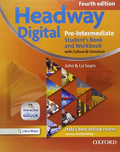 9780194742917: New headway digital. Pre-intermediate. Student's book-Workbook-Build up. Con e-book. Con espansione online. Per le Scuole superiori