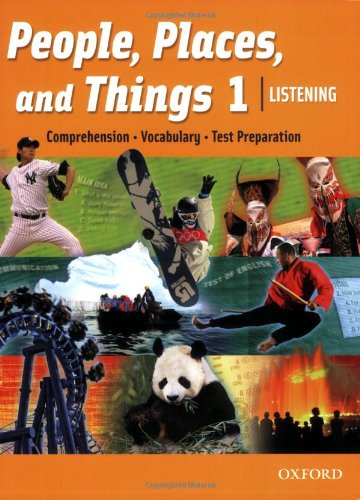 9780194743501: People, Places, and Things 1 Listening Student Book (book 1)