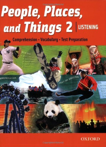 9780194743518: People, Places, and Things 2 Listening Student Book (book 2)
