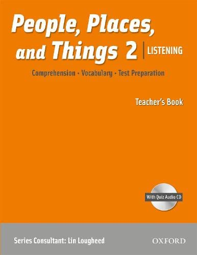 9780194743631: People, Places, and Things 2 Listening Teachers Book w/CD Pack (book 2)
