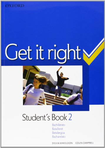 9780194745895: Get it right, 2º Bachillerato