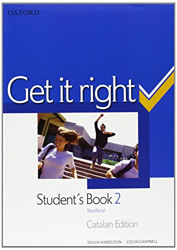 9780194745918: GET IT RIGHT 2 SB +ORAL SK COMPANION CAT