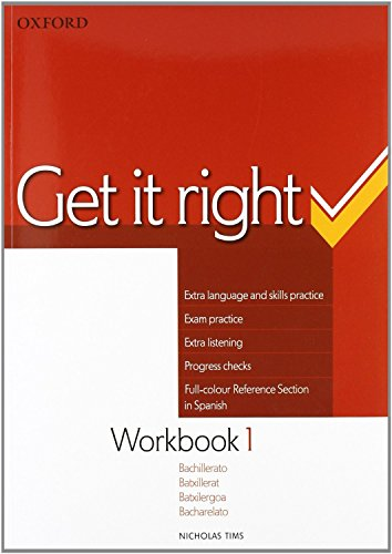 9780194746038: Get it Right 1: Workbook Spanish Edition - 9780194746038