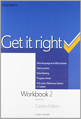 9780194746168: Get it Right 2: Workbook (Catalan) ED