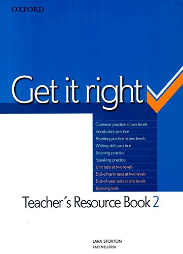 9780194746205: Get It Right 2: Teacher's Resource Pack