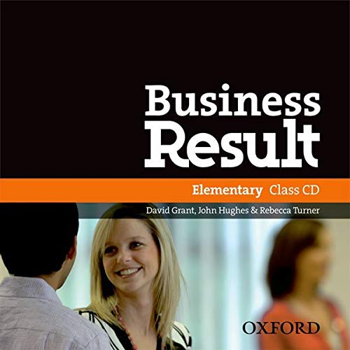 9780194748070: Business Result: Elementary: Class Audio CD