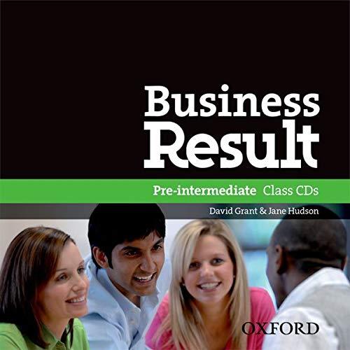 9780194748162: Business Result Pre-Intermediate. Class CD (2)