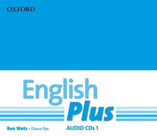 9780194748728: English Plus: 1: Audio CD: An English secondary course for students aged 12-16 years.