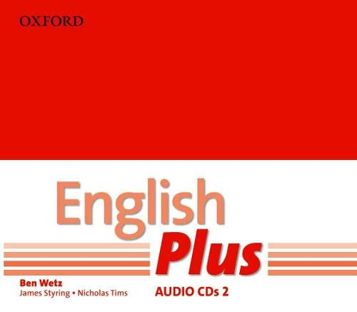 9780194748735: English Plus: 2: Audio CD: An English secondary course for students aged 12-16 years.