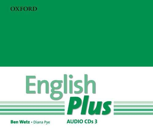 9780194748742: English Plus: 3: Audio CD: An English secondary course for students aged 12-16 years