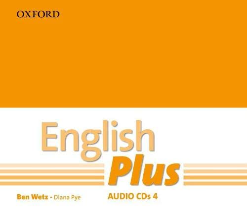 9780194748759: English Plus: 4: Audio CD: An English secondary course for students aged 12-16 years