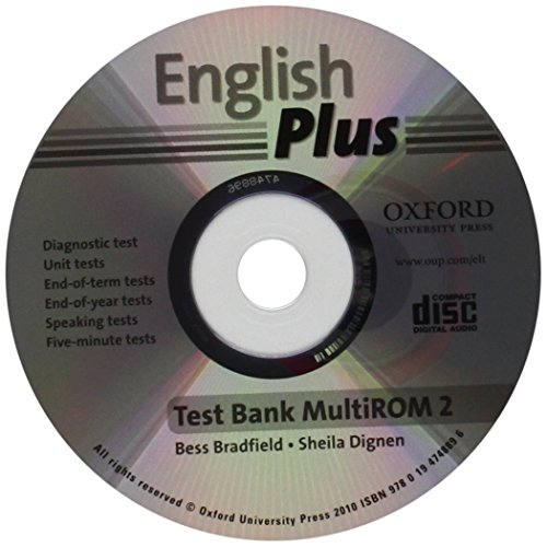 9780194748896: English Plus: 2: Test Bank MultiROM: An English secondary course for students aged 12-16 years.