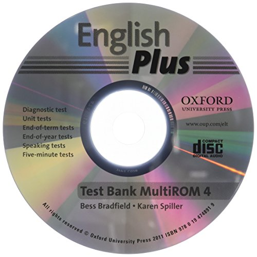 9780194748919: English Plus: 4: Test Bank MultiROM: An English secondary course for students aged 12-16 years