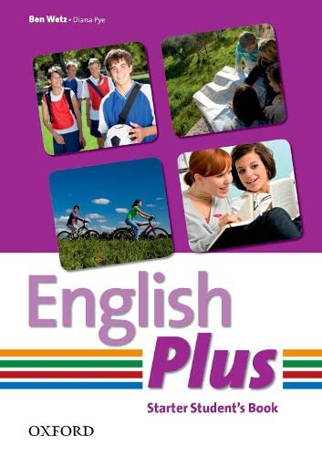 9780194749084: English Plus Starter Student Book