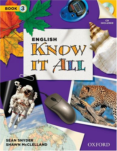 English Know It All 3 Student Book: Snyder, Sean, McClelland,