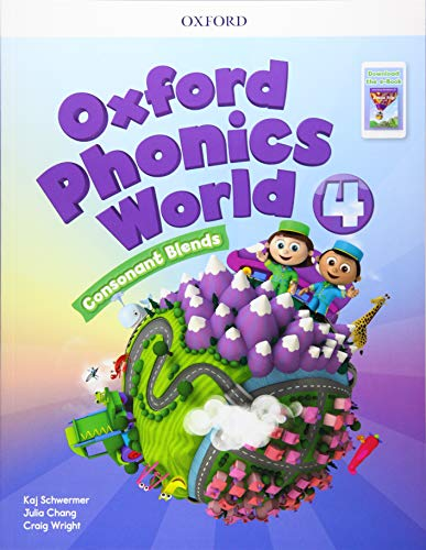 OXFORD PHONICS WORLD REFRESH 4 SB PK
