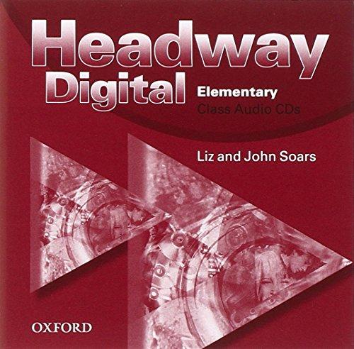 9780194755047: Headway digital elem.class cd