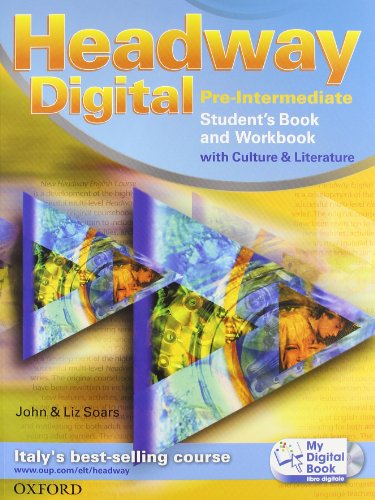 9780194755160: Headway digital. Pre-intermediate. Student's book-Workbook-Build up-My digital book. Con espansione online. Per le Scuole superiori. Con CD-ROM
