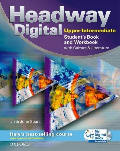 9780194755351: New headway digital. Upper intermediate. Student's book-Workbook-Mydigitalbook. With key. Con espansione online. Per le Scuole superiori